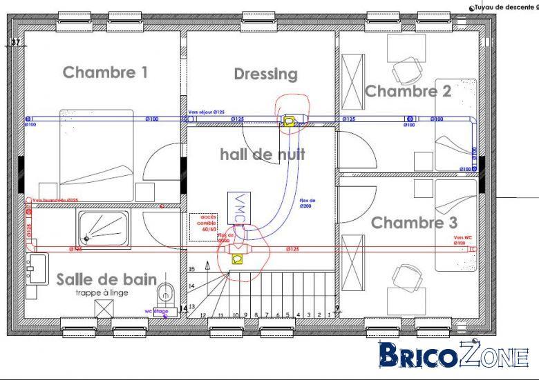 Vmc  Diamtre Et Nombre De Bouches Par Pice