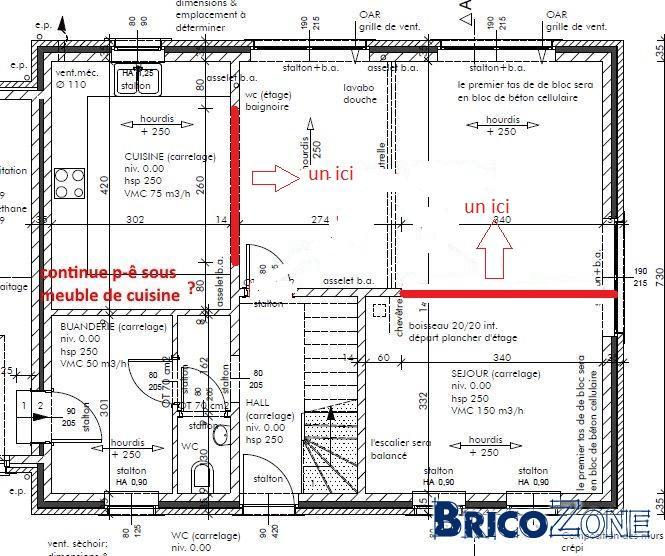 Nouvelle construction longue fissure dans le carrelage for Fissure carrelage plancher chauffant