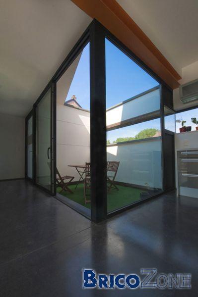 avis po le bois et b ton liss dans une ph. Black Bedroom Furniture Sets. Home Design Ideas