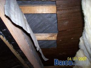 Ancienne sous-toiture