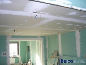 Installation spots 230V