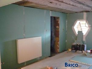 ossature bois pour faux plafond