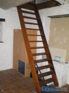 Escaliers trop droit, peut on changer ?