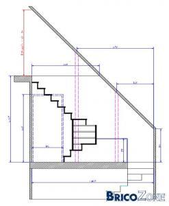 Escalier - Possible sous combles ?