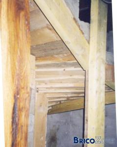 coffrage escalier marche balan�er