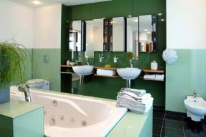 Murs salle de bain - Peinture tas de laque ...