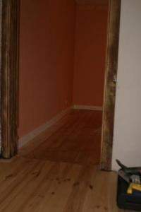 Réparation d'un plancher de grenier