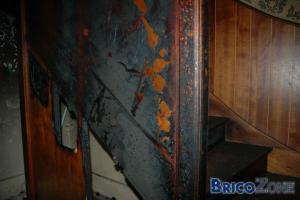 ça chauffe dans l'escalier - peut on reparer ?