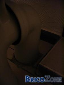 deplacer un wc de quelques cm...