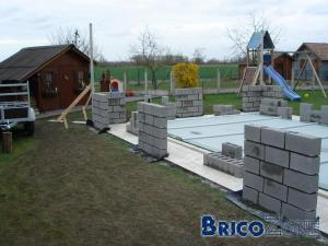 Construction abris de piscine c 39 est parti for Construction abri piscine
