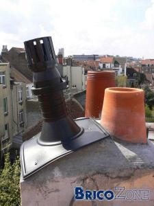 Sortie toiture chaudi re de type ferm e for Chaudiere ventouse ou cheminee