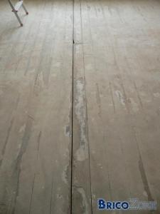 Finition vinyle sur plancher