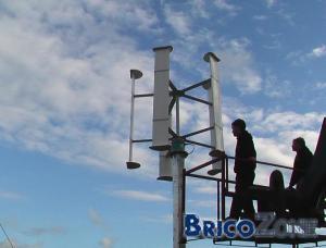 mesure des vitesse de vent pour l'instation des éoliennes