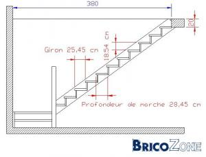 calcul escalier quart tournant. Black Bedroom Furniture Sets. Home Design Ideas