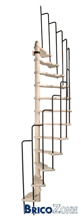 Comparaison escalier gain de place for Escalier colimacon gain de place