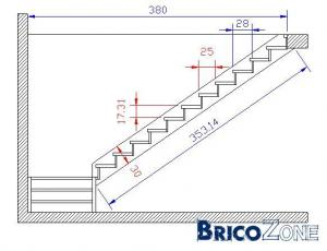 schema calcul escalier. Black Bedroom Furniture Sets. Home Design Ideas