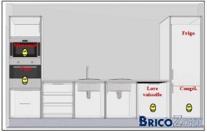 Position prises electro cuisine - Installation electrique cuisine ...