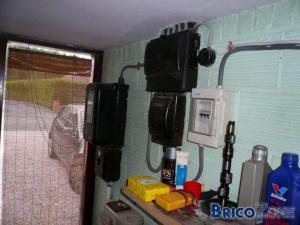 Rénovation électrique (coffret/terre)