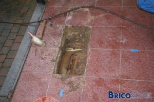Comment trouver canalisation égout svp