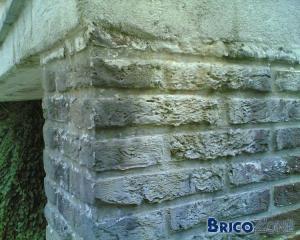 Enlever résidu de Salpètre sur mur extérieur