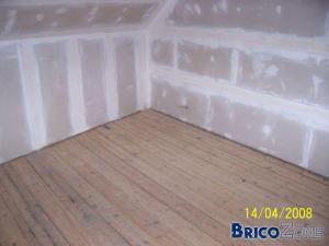 isolation chambre : avant-apr�s