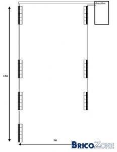 section des tuyaux chauffages
