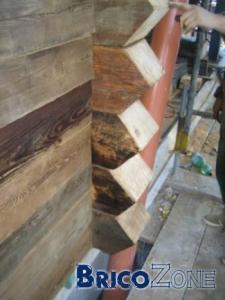 Bardage bois sur façade