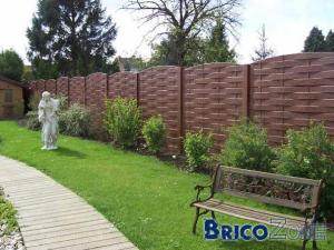 Conseils panneaux de jardin for Separation bois pour jardin