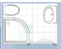 (Très) petite salle de bain.