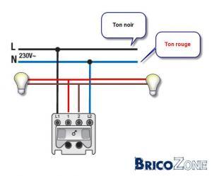 Brancher un interrupteur a partir d'une prise
