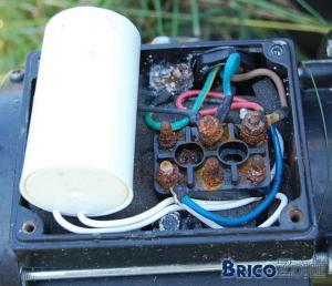 Réparer un bornier de moteur rouillé