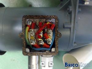 cablage moteur electrique