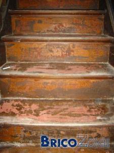 Besoin de conseils décaper escalier (photos)
