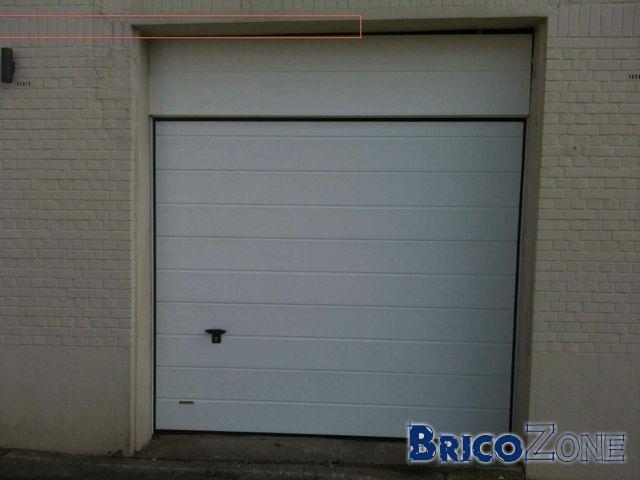 Porte Sectionelle Garage - Porte de garage sectionnelle avec reglage porte pvc