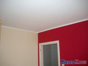 Peindre : Raccord mur/plafond