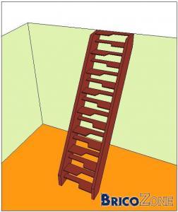 echelle pour escalier tournant simple cool charmant. Black Bedroom Furniture Sets. Home Design Ideas