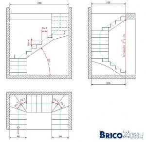 aide pour escalier en u. Black Bedroom Furniture Sets. Home Design Ideas