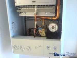 Chaudière à gaz: plus d'eau chaude