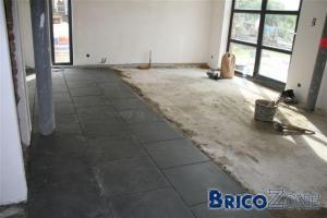 carrelage sur beton