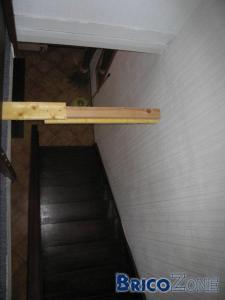 Passage sur escalier