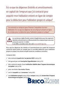 crédit hypothécaire - assurance solde restant dû (ASRD) - informations générales