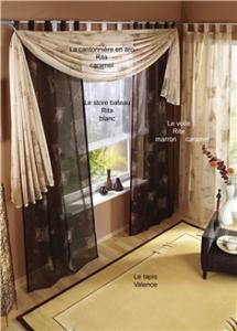 Décoration fenêtre (stores, rideaux,...)