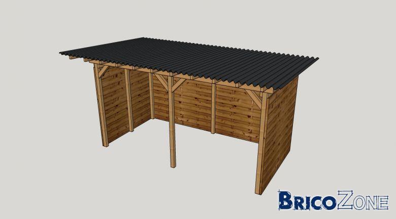 Autoconstruction abris à bois