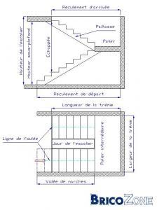 Escalier avec palier