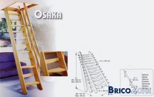 renseignements sur type d'escalier