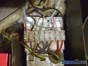 branchement thermostat  sur chaudiere