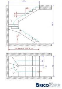calcul escalier et marche