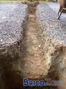 Construction de piliers de portail