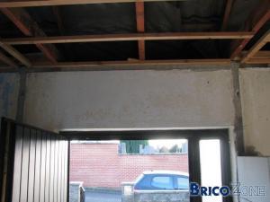 Besoin d'avis pour abattre un mur au dessus d'une porte d'entrée