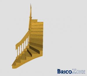 Escalier multivolées